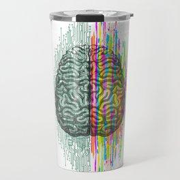 The Mind - Brain Dichotomy Travel Mug