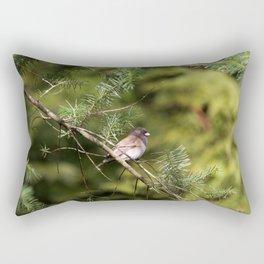 Perching Bird Rectangular Pillow