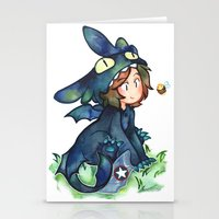 toothless Stationery Cards featuring toothless by cynamon