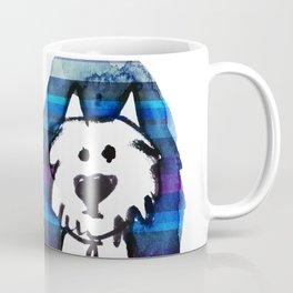 Two very serious Westies Coffee Mug