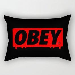 OBEY Bleeding Rectangular Pillow