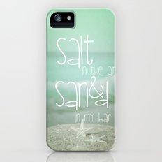 SALT IN THE AIR Slim Case iPhone (5, 5s)
