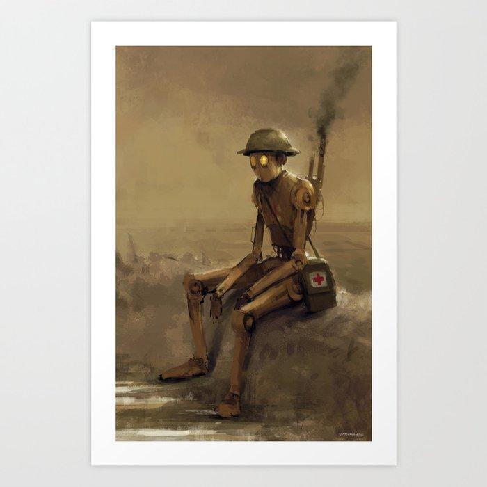 medic Art Print