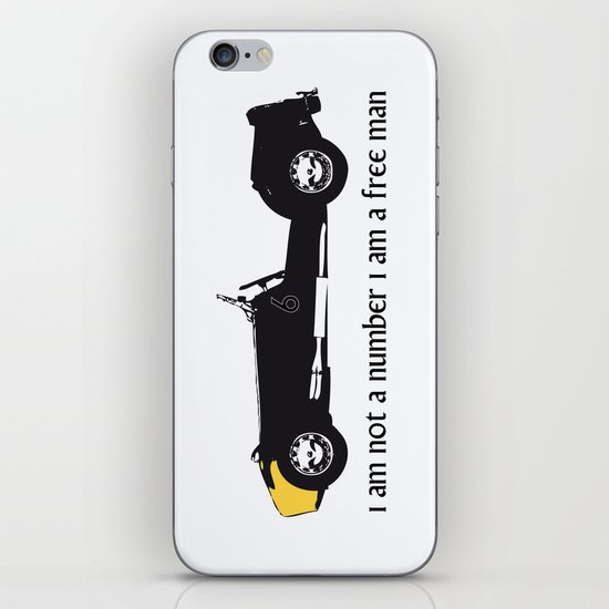 i am not a number iPhone & iPod Skin