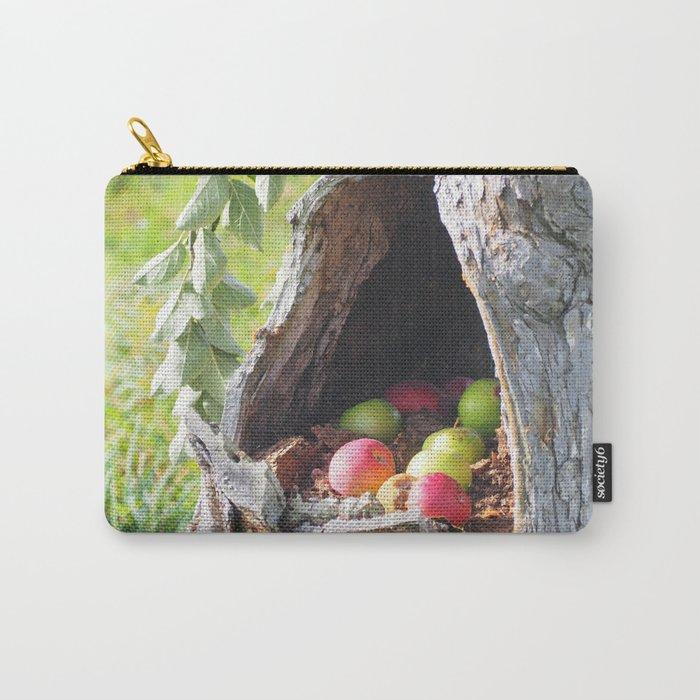 Hidden Apples Carry-All Pouch
