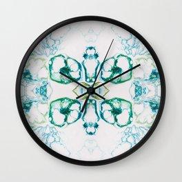 Fragmented 10 Wall Clock