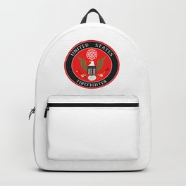 Firefighter Symbol Backpack