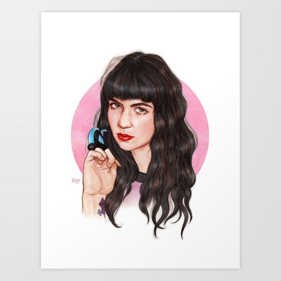 Grimes III  Art Print