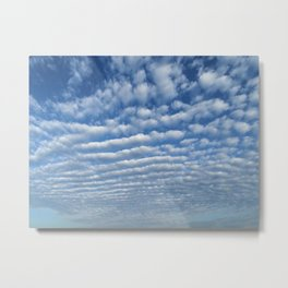 Cumulus Metal Print