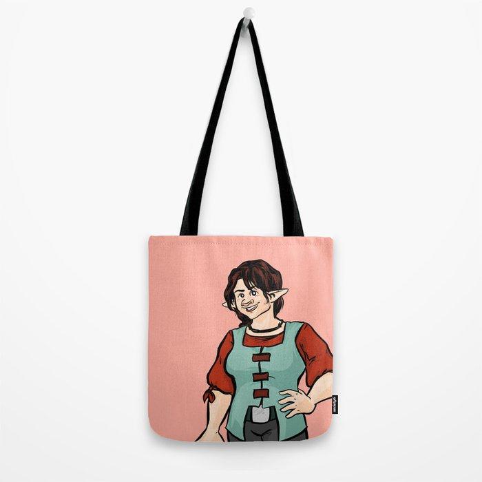 Cheerful Eledrine Tote Bag
