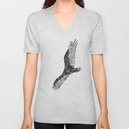 Turkey Vulture Unisex V-Neck