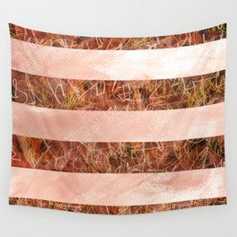 Red Stripes Wall Tapestry