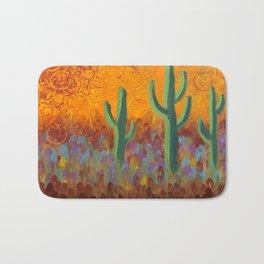 Saguaros Dreaming Bath Mat