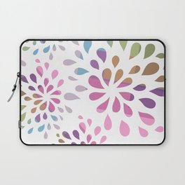Colourful drops Laptop Sleeve