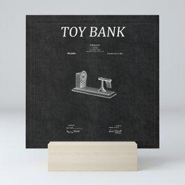 Toy Bank Patent 8 Mini Art Print