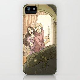 A modern St George iPhone Case