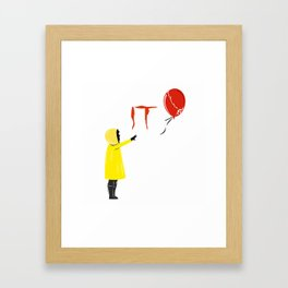 IT clown Pennywise Framed Art Print