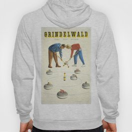 Grindelwald, Swiss Vintage Travel poster Hoody