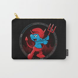 The Little Blue Devil Carry-All Pouch
