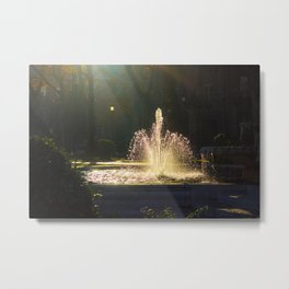 The Fountain of Apollo, Madrid Metal Print