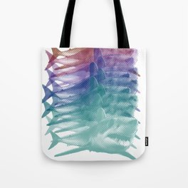 shark shirt Tote Bag