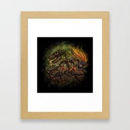 Extinction Chaos Framed Art Print