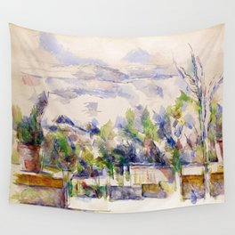 1902 - Paul Cezanne - Mont Sainte-Victoire Wall Tapestry