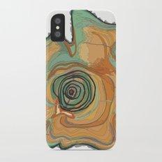 Tree Stump Series 3 - Illustration Slim Case iPhone X
