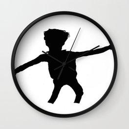 Shadow Dancing Wall Clock