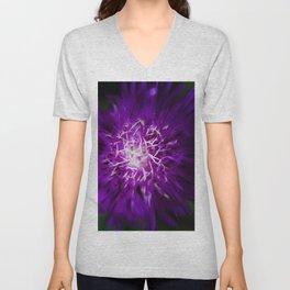 Abstract Flower Nature / Botanical / Floral Photograph Unisex V-Neck