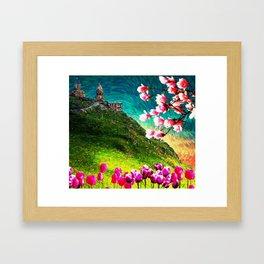 Tulip Hill Framed Art Print