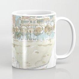 Sunday at Klyde Warren Coffee Mug