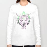 baphomet Long Sleeve T-shirts featuring Baphomet V3 by Savannah Horrocks