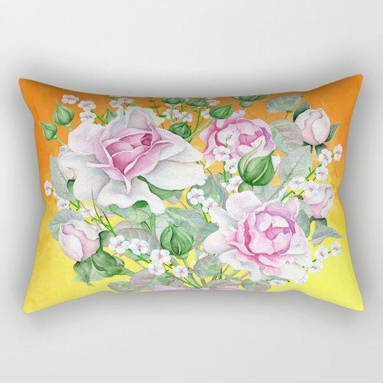 Flowers bouquet #22 Rectangular Pillow