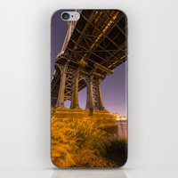 dumbo iPhone & iPod Skins featuring DUMBO by Juha Photography