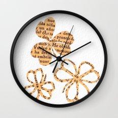 PAPERCUT FLOWER 4 Wall Clock
