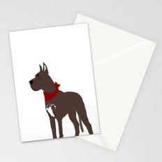 Great Dane Dog  Art Stationery Cards