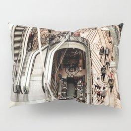 Urban Industrial Architectural Designs Elegant Art Photo Pillow Sham