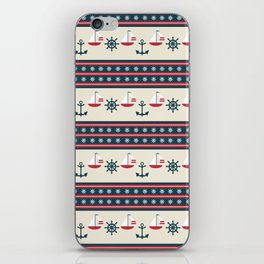 Let's Go Sailing iPhone Skin