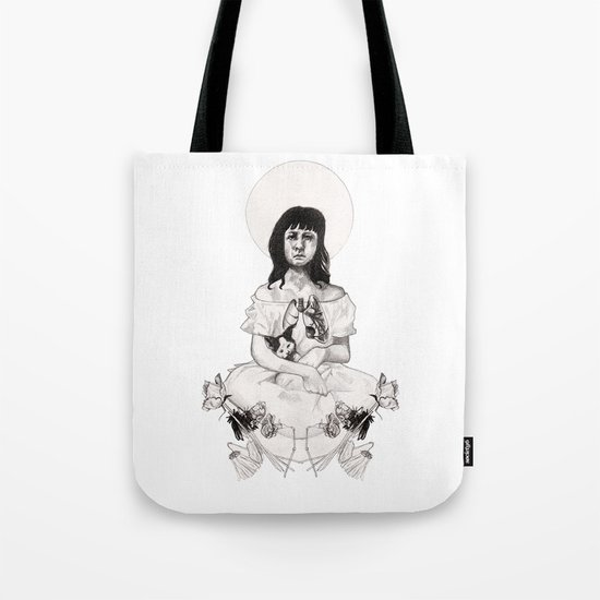 The Girl With Half a Lung Tote Bag
