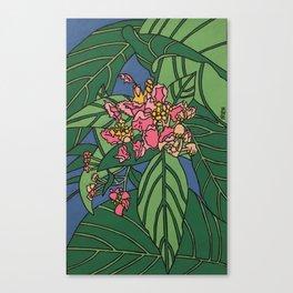 ayahuasca flower Canvas Print