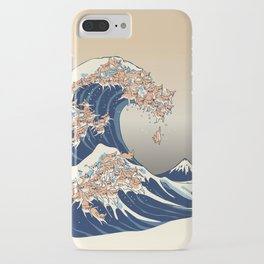 The Great Wave of Chihuahua iPhone Case
