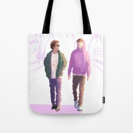 Boys being boys Tote Bag