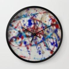 Lego: Jackson Pollock 2 Wall Clock