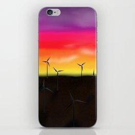 Texas Windmills Vers. 3 iPhone Skin