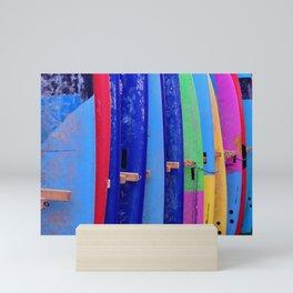 Surfboards Mini Art Print