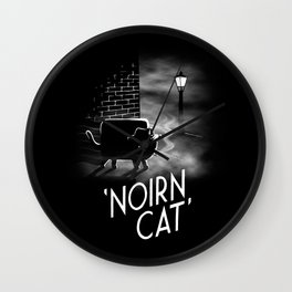 Noirn Cat Wall Clock