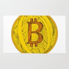 Bitcoin Doodle Art Rug