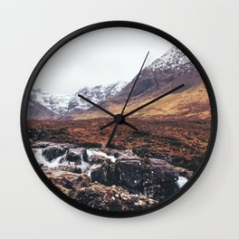 Land of Fairy Pools Wall Clock