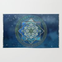 celtic Area & Throw Rugs featuring Celtic Dream by MSheehan
